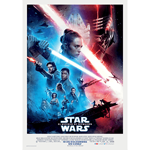 Star Wars El Ascenso de Skywalker - póster