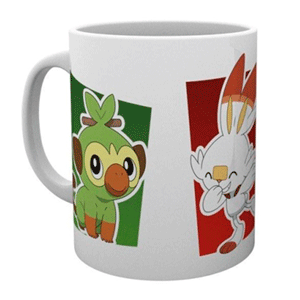 Taza Pokémon Galar Starters