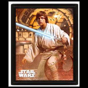 Cuadro 3D Star Wars: Vader vs Skywalker