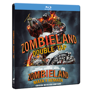 Zombieland 2 Mata y Remata - Steelbook BD + DVD