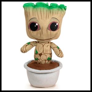 Peluche Baby Groot maceta Guardianes de la Galaxia Marvel (REACONDICIONADO)