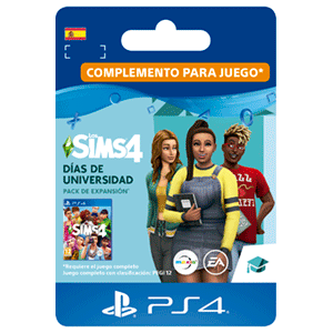 The Sims 4: Días de Universidad PS4