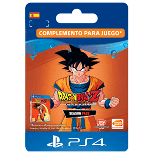 Dragon Ball Z Kakarot Season Pass PS4