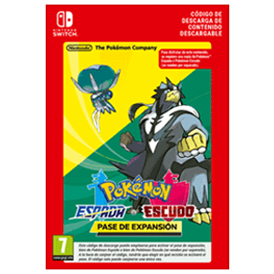 Pokémon Espada ó Escudo Expansion Pass NSW