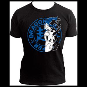 Camiseta Dragon Ball Super: Vegeta Talla L