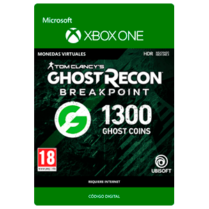 Ghost Recon Breakpoint - 1200 + 100 Ghost Coins XONE