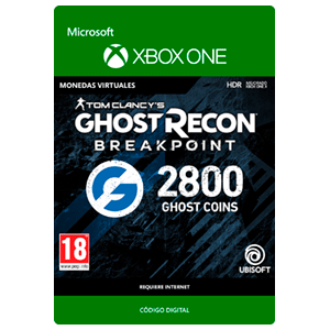 Ghost Recon Breakpoint - 2400 + 400 Ghost Coins XONE