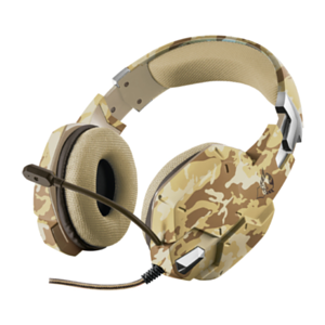 Trust GXT 322D Carus Desert Camo PC-PS4-XONE-SWITCH-MOVIL - Auriculares Gaming