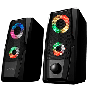 GAME SP200 2.0 RGB Speaker - Altavoces - Reacondicionado