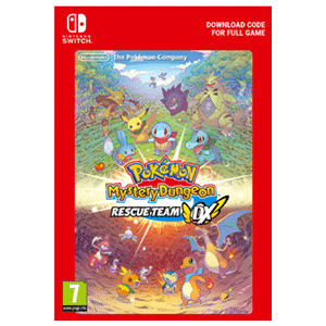 Pokémon Mystery Dungeon Rescue Team DX NSW