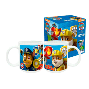 Taza Cerámica Patrulla Canina Paw Patrol Ready for Action