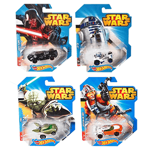Surtido Hot Wheels Vehiculo Deluxe Star Wars