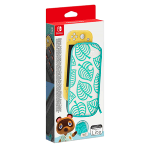 Switch Lite Set (Funda + Protector LCD) Edición Animal Crossing New Horizons