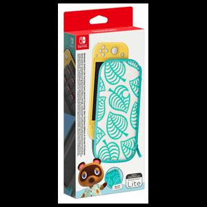 Switch Lite Set (Funda + Protector LCD) Edición Animal Crossing New Horizons