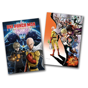 One Punch Man - póster doble cara