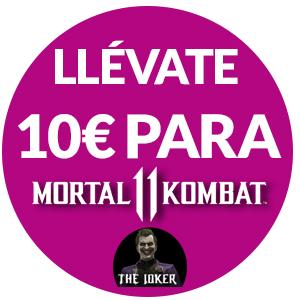 10€ de descuento en Mortal Kombat 11 Joker Edition en PS4