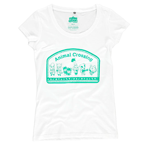 Camiseta Mujer Animal Crossing Talla M