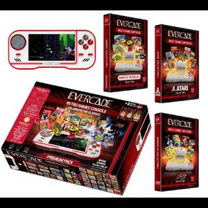 Consola Blaze Evercade Premium Pack + 3 Cartuchos