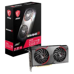 MSI Radeon RX 5500 XT GAMING X 8GB GDDR6 - Tarjeta Gráfica Gaming