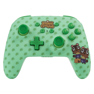 Controller Bluetooth PowerA Animal Crossing Tendo y Nendo -Licencia oficial-