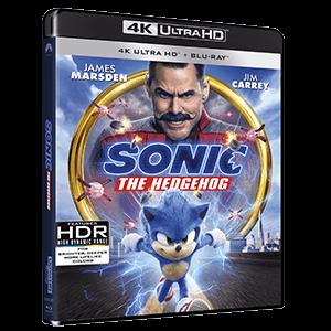 Sonic La Película (4K + BD)