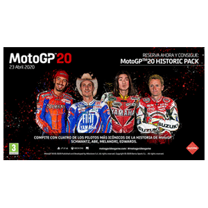 MotoGP20 - DLC Historic Pack PC