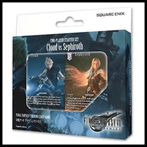 Mazo de Cartas Final Fantasy Cloud vs Sephiroth