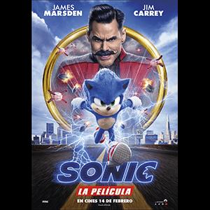 Sonic La Película - póster