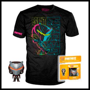Pack Camiseta y Pocket Pop Fortnite: Omega Talla M (REACONDICIONADO)