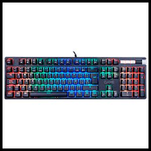 GAME KX500 Mecánico Red Switch RGB - Teclado Gaming - Reacondicionado