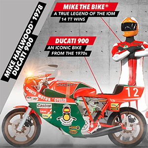 TT Isle of Man 2 - DLC Mike Hailwood 1978 Ducati 900 PS4
