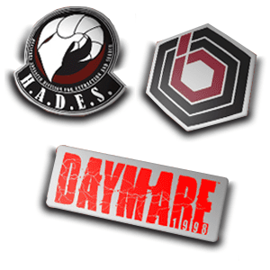 Daymare: 1998 Black Edition - set de pins