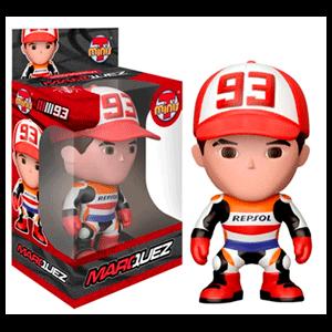 Figura Tminis Moto GP Marc Márquez Con Gorra 10cm