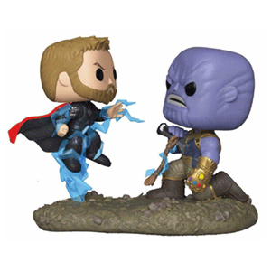 Figura Pop Vengadores Endgame: Thor vs Thanos