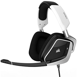 CORSAIR Void Elite RGB USB Dolby 7.1 Blanco PC - Auriculares Gaming