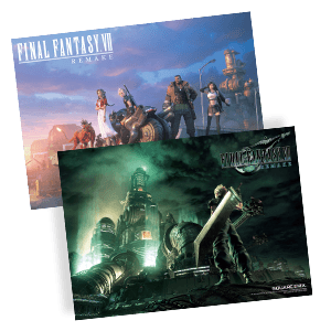 Final Fantasy VII Remake - Póster