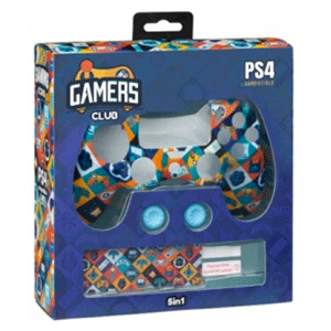 Kit 5 Accesorios mando PS4 Indeca Gamers Club