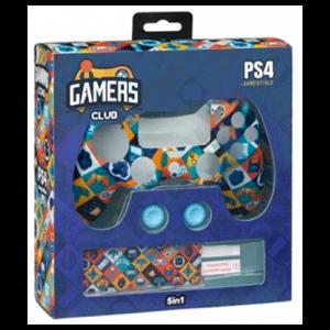 Kit 5 Accesorios mando PS4 Indeca Gamers Club