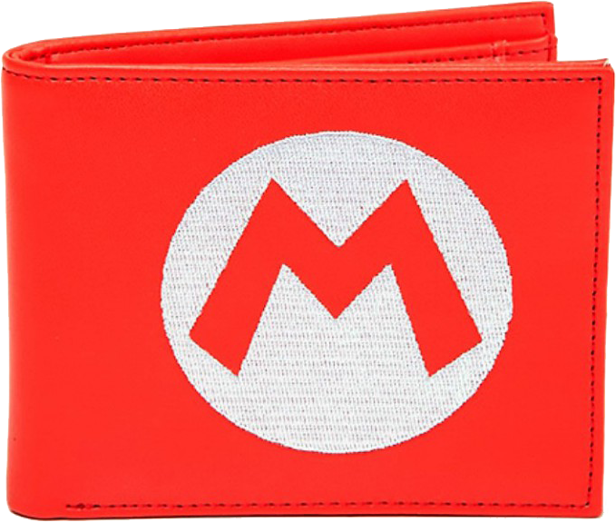 Cartera Roja Super Mario