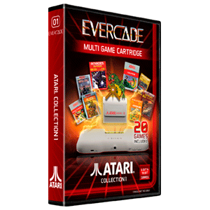 Cartucho Evercade Atari Collection 1