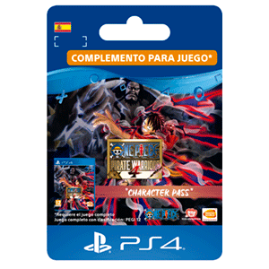 One Piece Pirate Warriors 4 Character Pass PS4