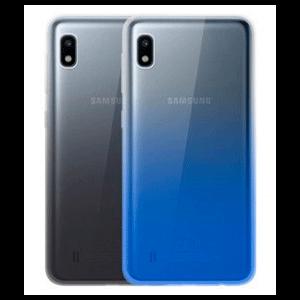 Pack 2 Carcasas Negro Degradado + Azul Degradado Samsung Galaxy A10