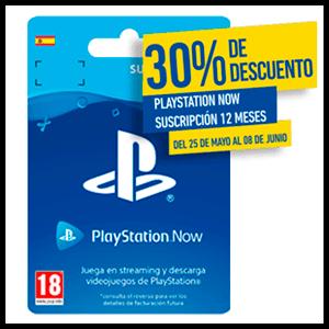 PS4 NOW 365 Días - 30% Dto