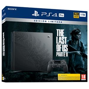 Playstation 4 Pro 1Tb Edición Limitada The Last of Us Parte II