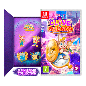 Clive 'N' Wrench With Pin Badges Set