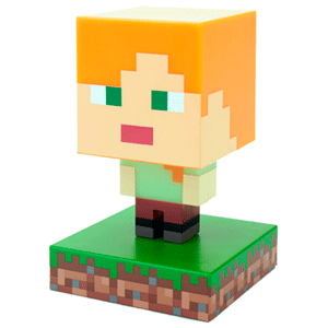 Lámpara Minecraft: Alex