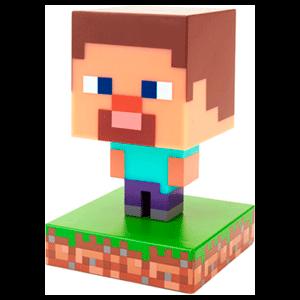 Lámpara Icon Minecraft: Steve