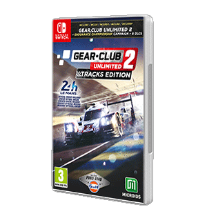 Gear. Club Unlimited 2 Tracks Edition