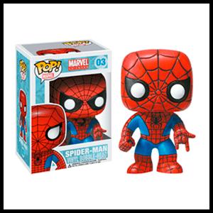 Figura Pop Marvel Spider-Man (REACONDICIONADO)