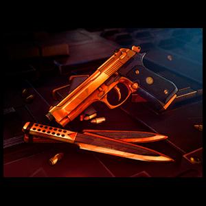 XIII Edición Limitada - DLC Paquete de aspecto armas de oro NSW